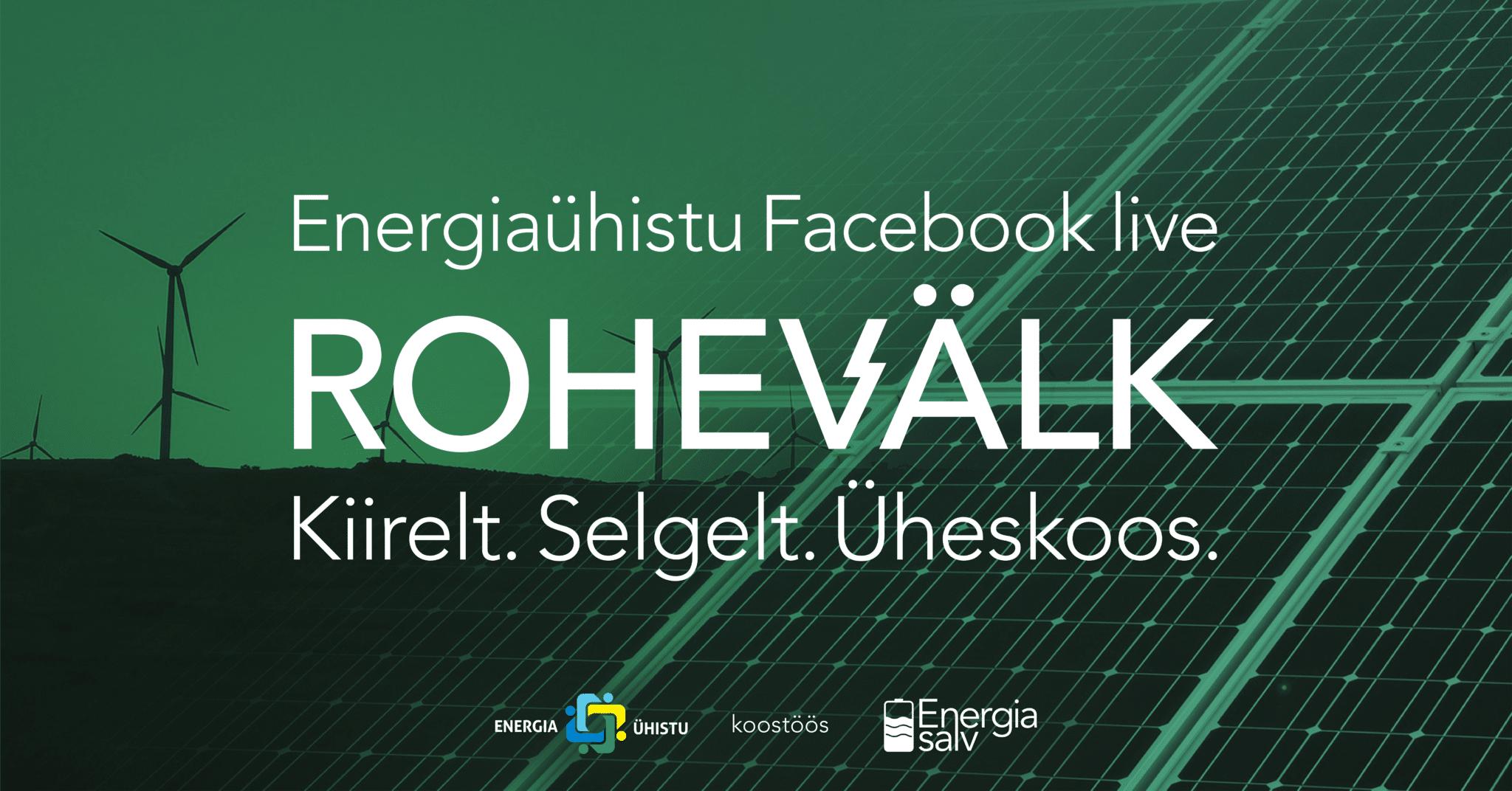 Facebook Live: Rohevälk